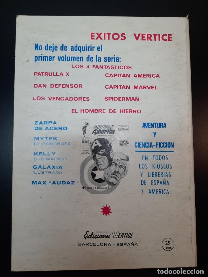 Cómics: IRON MAN (1969, VERTICE) -EL HOMBRE DE HIERRO- 6 · XII-1969 · LA NOCHE DEL FANTASMA - Foto 2 - 224561107