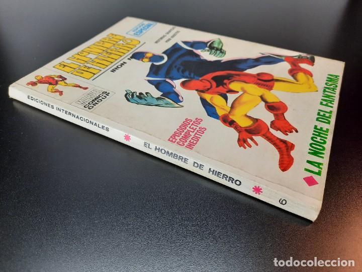 Cómics: IRON MAN (1969, VERTICE) -EL HOMBRE DE HIERRO- 6 · XII-1969 · LA NOCHE DEL FANTASMA - Foto 3 - 224561107