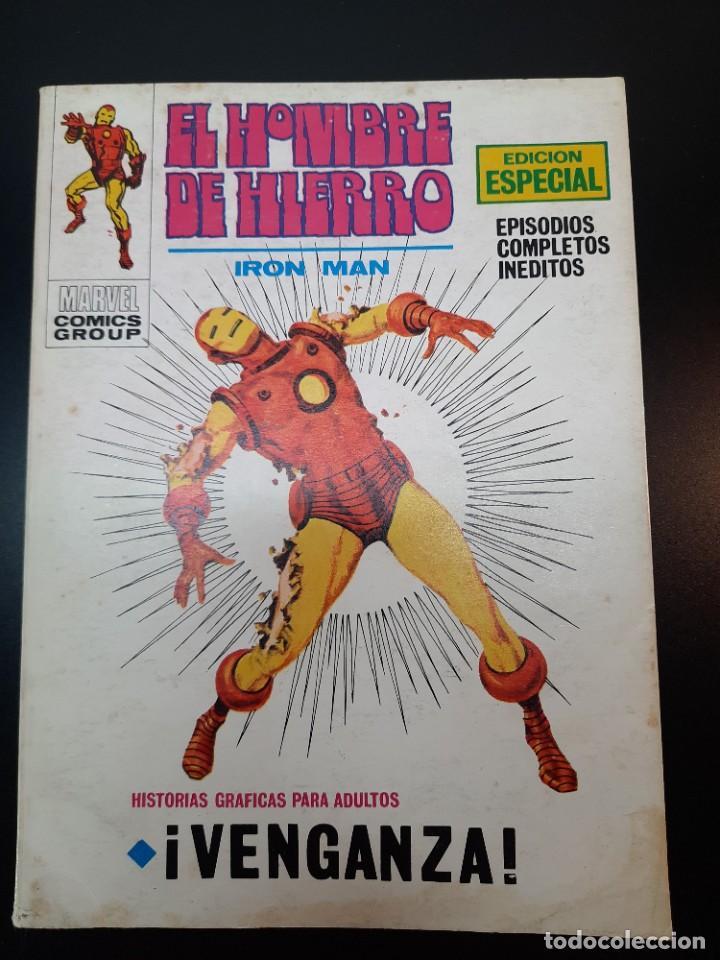 IRON MAN (1969, VERTICE) -EL HOMBRE DE HIERRO- 16 · X-1970 · VENGANZA (Tebeos y Comics - Vértice - Hombre de Hierro)