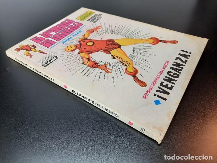 Cómics: IRON MAN (1969, VERTICE) -EL HOMBRE DE HIERRO- 16 · X-1970 · VENGANZA - Foto 3 - 224561227