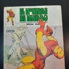 Cómics: IRON MAN (1969, VERTICE) -EL HOMBRE DE HIERRO- 32 · II-1972 · EL LATIGO DE LA MUERTE. Lote 224561375