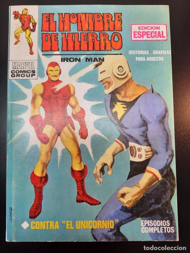 IRON MAN (1969, VERTICE) -EL HOMBRE DE HIERRO- 2 · VIII-1969 · CONTRA EL UNICORNIO**EXCELENTE*** (Tebeos y Comics - Vértice - Hombre de Hierro)