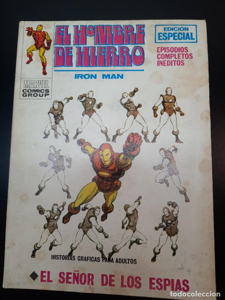 IRON MAN (1969, VERTICE) -EL HOMBRE DE HIERRO- 15 · IX-1970 · EL SEÑOR DE LOS ESPIAS (Tebeos y Comics - Vértice - Hombre de Hierro)