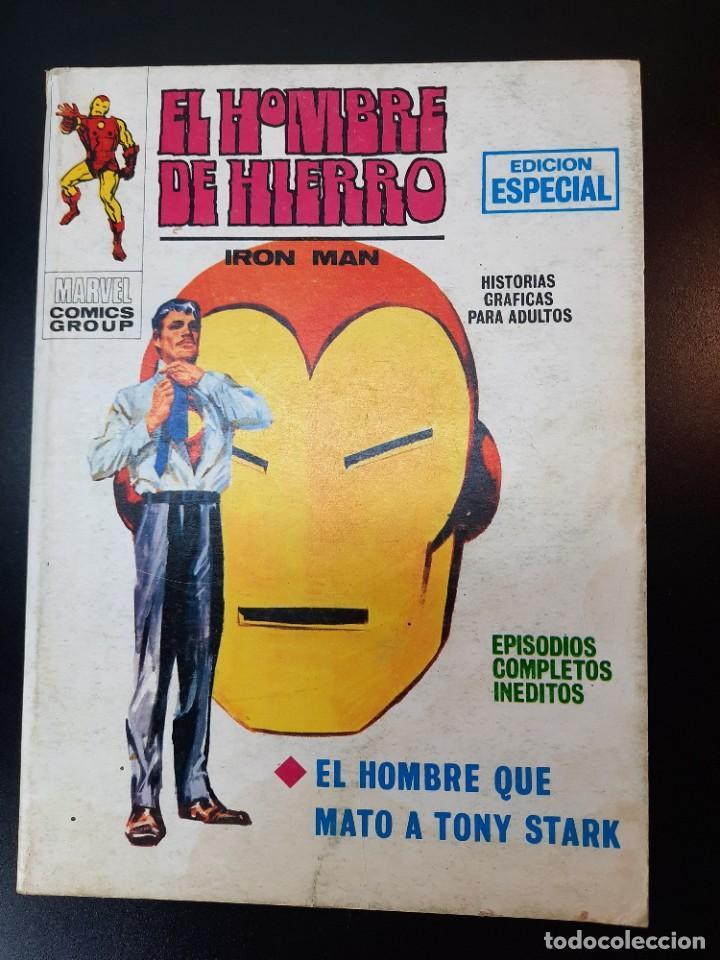 IRON MAN (1969, VERTICE) -EL HOMBRE DE HIERRO- 12 · VI-1970 · EL HOMBRE QUE MATO A TONY STARK (Tebeos y Comics - Vértice - Hombre de Hierro)