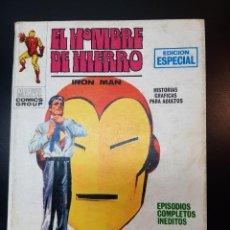 Cómics: IRON MAN (1969, VERTICE) -EL HOMBRE DE HIERRO- 12 · VI-1970 · EL HOMBRE QUE MATO A TONY STARK. Lote 224562225