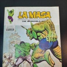 Comics: HULK (1970, VERTICE) -LA MASA- 34 · 1974 · MUERTE EN LAS ALTURAS. Lote 224562946