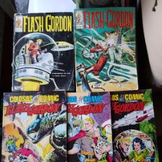 Comics : LOTE 5 TEBEOS / CÓMIC FLASH GORDON N⁰ 5-11 V.1 VALENCIANA 2-9-10. Lote 224568727