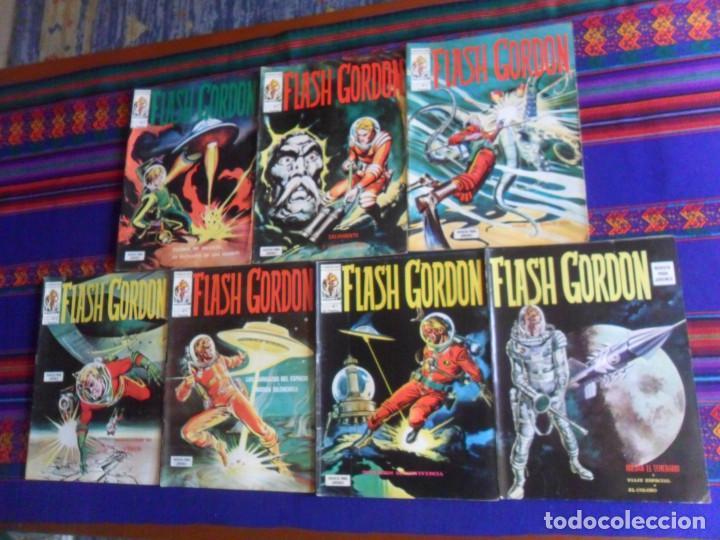 BUEN ESTADO, VÉRTICE VOL. 1 FLASH GORDON NºS 1 7 9 10 11 15 17. 1974. 30 PTS. (Tebeos y Comics - Vértice - Flash Gordon)
