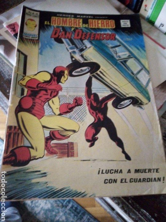 HÉROES MARVEL VOL 2 NÚM 40. EL HOMBRE DE HIERRO Y DAN DEFENSOR. VÉRTICE (Tebeos y Comics - Vértice - Hombre de Hierro)