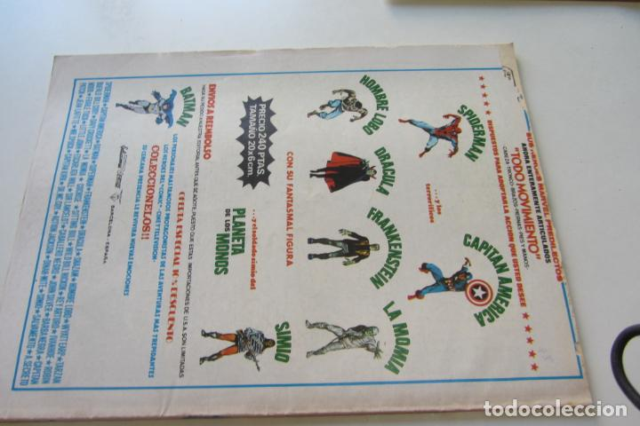 Cómics: THOR VOL. 2 - V.2 - N° 19 - UN ESPECTRO DEL PASADO - VÉRTICE 1976 Arx15 - Foto 3 - 224599610