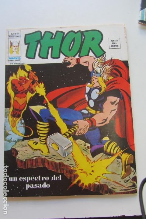 THOR VOL. 2 - V.2 - N° 19 - UN ESPECTRO DEL PASADO - VÉRTICE 1976 ARX15 (Tebeos y Comics - Vértice - Thor)