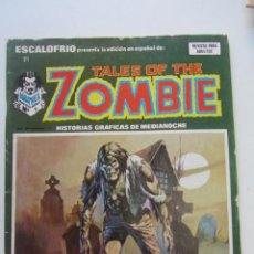 Comics: ESCALOFRIO Nº 21 TALES OF THE ZOMBIE NÚMERO VERTICE ARX15. Lote 224600460