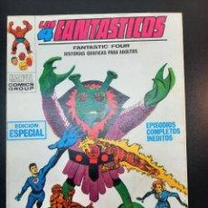 Cómics: 4 FANTASTICOS, LOS (1969, VERTICE) -V.1- 12 · III-1970 · PLAN SINIESTRO. Lote 224616220