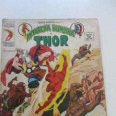 Comics: SUPER HEROES PRESENTA ANTORCHA HUMANA Y THOR VOL. 2 Nº 24 VERTICE ARX15. Lote 224617313