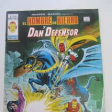 Cómics: SUPER HEROES.VOL 1. Nº 52 HOMBRE DE HIERRO DAN DEFENSOR BUEN ESTADO MUNDICOMICS. VERTICE ARX15. Lote 224618770