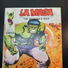Cómics: HULK (1970, VERTICE) -LA MASA- 25 · 1972 · ¿QUIEN TE JUZGARA MASA?. Lote 224630440