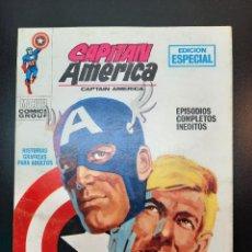 Cómics: CAPITAN AMERICA (1969, VERTICE) 6 · III-1970 · TRAS LA MASCARA *** EXCELENTE ***. Lote 224637292