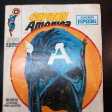 Cómics: CAPITAN AMERICA (1969, VERTICE) 4 · I-1970 · ESTA NOCHE MORIRE. Lote 224644790