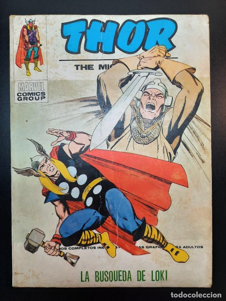 THOR (1970, VERTICE) 35 · I-1974 · LA BUSQUEDA DE LOKI (Tebeos y Comics - Vértice - Thor)
