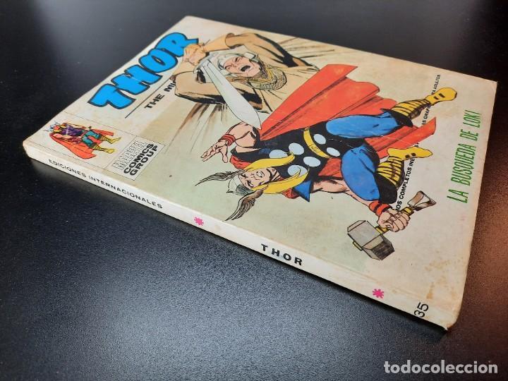 Cómics: THOR (1970, VERTICE) 35 · I-1974 · LA BUSQUEDA DE LOKI - Foto 3 - 224648075