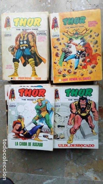 THOR VOL.1 COLECCIÓN COMPLETA 42 NÚMEROS VERTICE (Tebeos y Comics - Vértice - Thor)