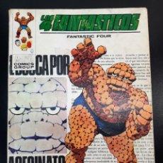 Cómics: 4 FANTASTICOS, LOS (1969, VERTICE) -V.1- 46 · I-1973 · LA COSA ES UN ASESINO. Lote 224875401