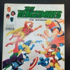 Comics : VENGADORES, LOS (1969, VERTICE) 31 · II-1972 · COMIENZA EL JUEGO. Lote 224877296