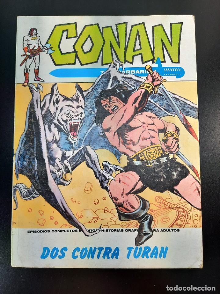 CONAN (1972, VERTICE) 15 · IV-1974 · DOS CONTRA TURAN (Tebeos y Comics - Vértice - Conan)