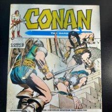 Cómics: CONAN (1972, VERTICE) 12 · XI-1973 · ESPADAS EN LA NOCHE. Lote 224889133