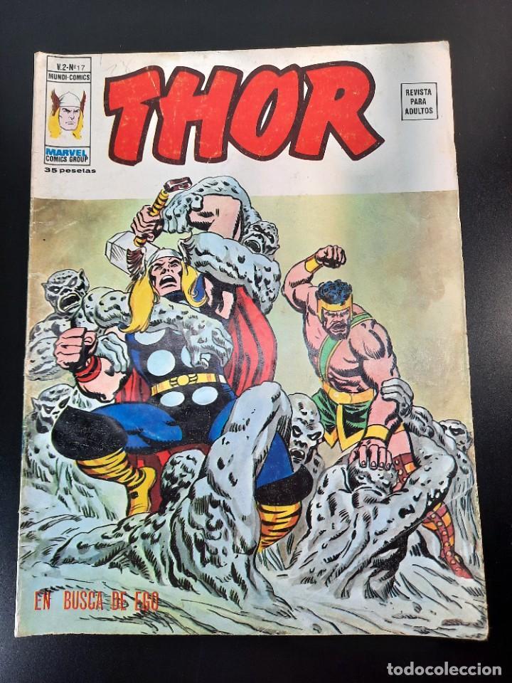 THOR (1974, VERTICE) 17 · II-1976 · EN BUSCA DE EGO (Tebeos y Comics - Vértice - Thor)