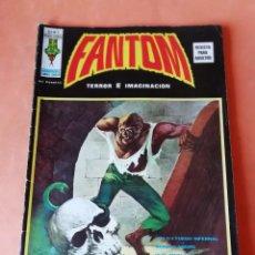 Cómics: FANTOM. TERROR E IMAGINACION.V.2 Nº 1. EDICIONES VERTICE 1973. Lote 225001660