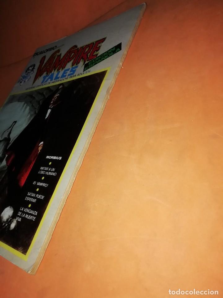Cómics: ESCALOFRIO. Nº 1 VAMPIRE TALES Nº1 . EDICIONES VERTICE 1973 - Foto 3 - 225010245