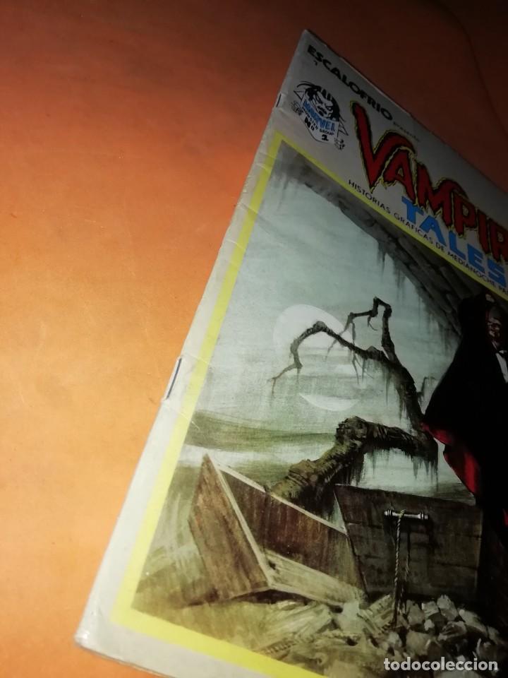 Cómics: ESCALOFRIO. Nº 1 VAMPIRE TALES Nº1 . EDICIONES VERTICE 1973 - Foto 4 - 225010245