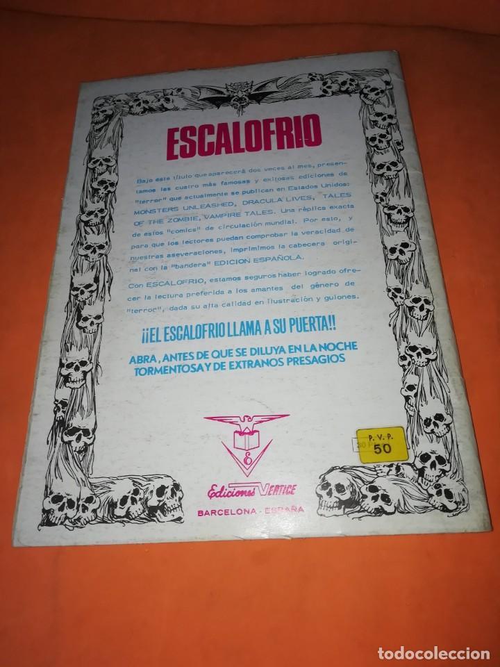 Cómics: ESCALOFRIO. Nº 1 VAMPIRE TALES Nº1 . EDICIONES VERTICE 1973 - Foto 2 - 225010245