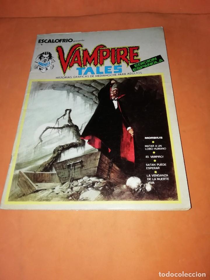 ESCALOFRIO. Nº 1 VAMPIRE TALES Nº1 . EDICIONES VERTICE 1973 (Tebeos y Comics - Vértice - V.1)
