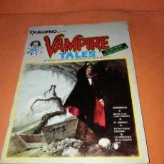 Cómics: ESCALOFRIO. Nº 1 VAMPIRE TALES Nº1 . EDICIONES VERTICE 1973. Lote 225010245