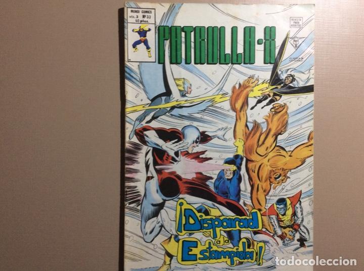 PATRULLA X VOLUMEN 3 NÚMERO 33 (Tebeos y Comics - Vértice - Patrulla X)