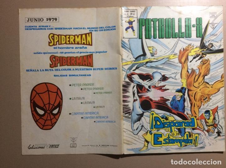 Cómics: PATRULLA X Volumen 3 número 33 - Foto 5 - 225040732