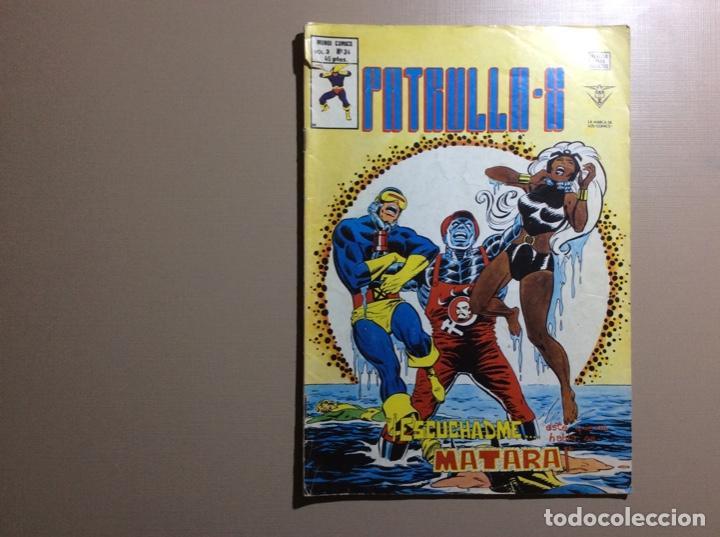 PATRULLA X VOLUMEN 3 NÚMERO 34 (Tebeos y Comics - Vértice - Patrulla X)