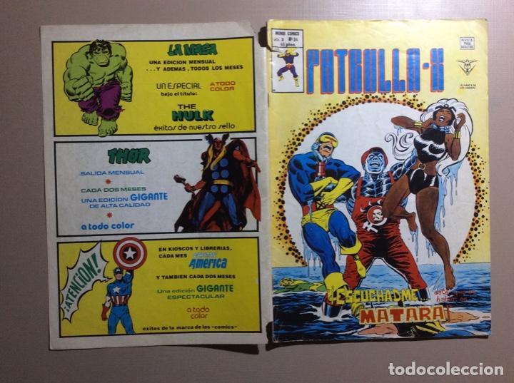 Cómics: PATRULLA X Volumen 3 número 34 - Foto 5 - 225041135