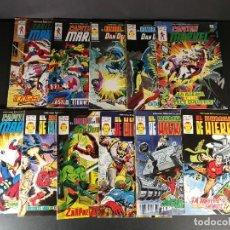 Comics: LOTE DE KIOSCO MUY CORRELATIVO 11 NºS DEL 49 AL 67 HEROES MARVEL VOL. 2 VERTICE. Lote 225105792