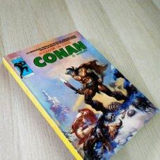 Cómics: CONAN 3 ANTOLOGIA DEL COMIC MUY BUEN ESTADO PERO TIENE DESGASTADO EL CANTO VERTICE. Lote 225116000