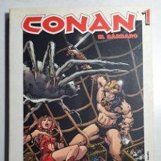 Cómics: CONAN - GRANDES HEROES DEL COMIC Nº 23, 24, 25 (COMPLETO CICLO DE 3 Nº DE CONAN). Lote 225121711