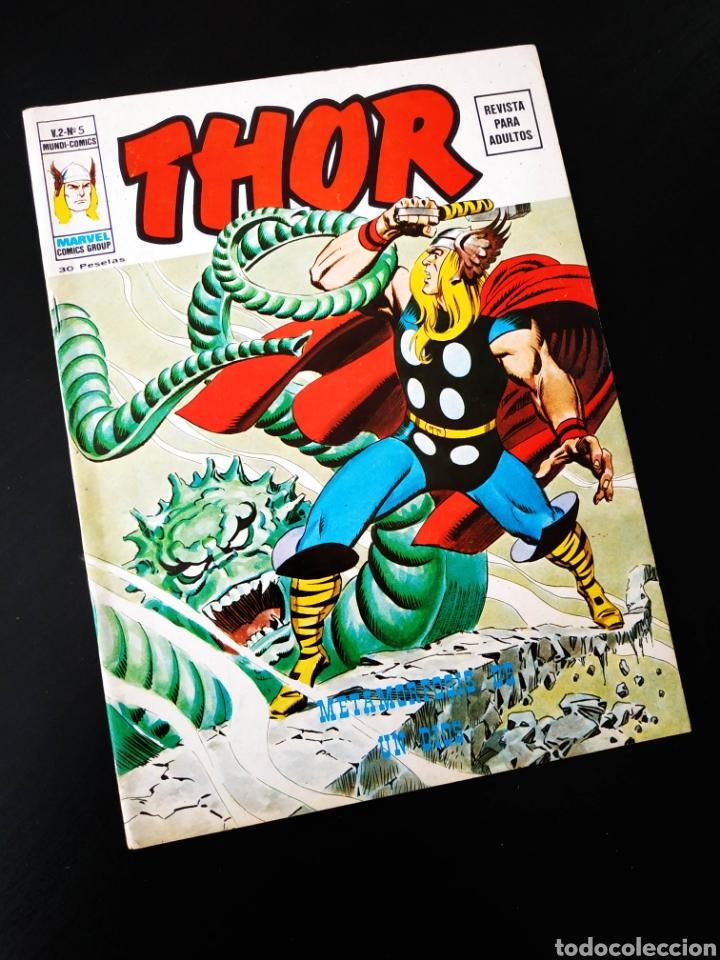 EXCELENTE ESTADO THOR 5 VOL II MUNDI COMICS VERTICE (Tebeos y Comics - Vértice - Thor)