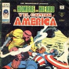 Cómics: LOS INSUPERABLES VOL.1 Nº 16 - VÉRTICE. CAPITAN AMERICA Y HOMBRE DE HIERRO.. Lote 225139848