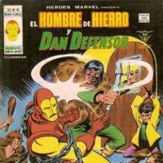 Cómics: HÉROES MARVEL VOL.2 Nº 45 - VÉRTICE. EL HOMBRE DE HIERRO Y DAN DEFENSOR.. Lote 225141635
