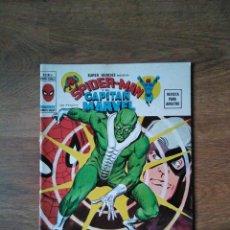 Fumetti: ESPECIAL SUPER HÉROES : SPIDERMAN Y CAPITÁN MARVEL - V 2 - N 11. Lote 225151422