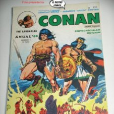 Cómics: CONAN, ANUAL 80, Nº 1, ED. VERTICE AÑO 1979, OFERTA!. Lote 225219215