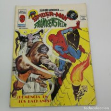 Cómics: MARVEL VERTICE SUPER HEROES MARVEL Nº 29 VOL. 2 SPIDERMAN Y FRANKENSTEIN. Lote 225247705