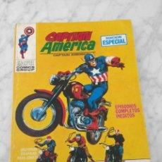 Cómics: CAPITAN AMERICA - Nº 12 - LOS ANGELES DE SATANAS - ED. VERTICE - 1970 - TACO VOL. 1. Lote 225332030